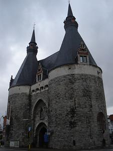 Brussels Gate, Mechelen - Belgium.