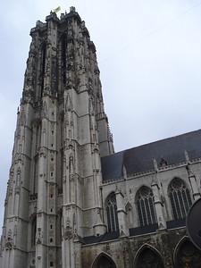 St Rumbolds Cathedral, Mechelen - Belgium.