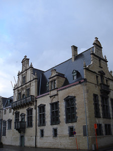 Palace Of Margaret Of Austria, Mechelen - Belgium.