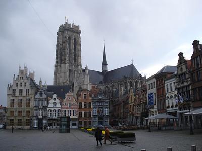 Grote Markt, Mechelen - Belgium.