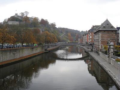 Sambre River, Namur - Belgium.
