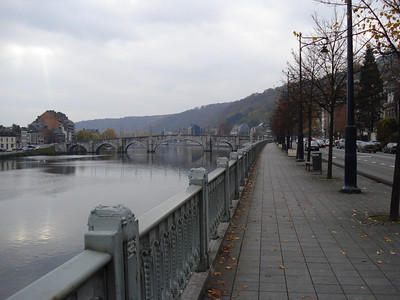 Meuse River, Namur - Belgium.