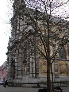 Church Of Saint Loup, Namur - Belgium.