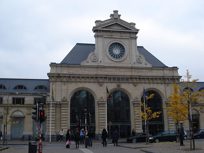 Namur Train Station, Namur - Belgium.