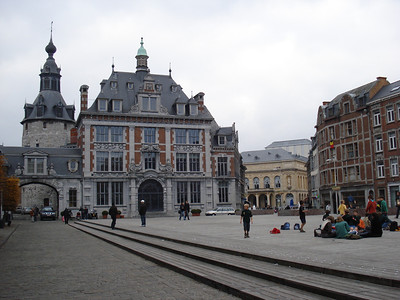 Place D Armes, Namur - Belgium.