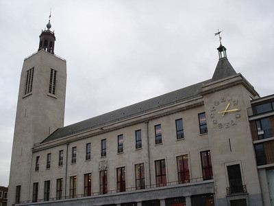Culture And Festival Hall, Ostend (Oostende) - Belgium.