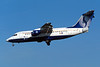 "OO-DJQ Avro RJ-85 ""SN Brussels Airlines"" c/n E2289 Brussels/EBBR/BRU 23-04-04 ""Qualiflyer"" (35mm slide)"