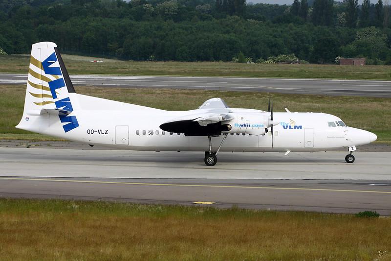 "OO-VLZ Fokker F-50 ""VLM"" c/n 20135 Liege/EBLG/LGG 06-06-15"