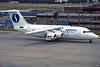 "OO-DJN Avro RJ-85 ""Delta Air Transport"" c/n E2275 Frankfurt/EDDF/FRA 10-07-96 ""SABENA c/s"" (35mm slide)"