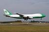 """OO-ACF Boeing 747-EVERF """"Challenge Airlines"""" c/n 35169 Liege/EBLG/LGG 10-08-20 """"Basic JAE c/s"""""""
