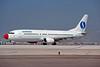 """OO-VEJ Boeing 737-405 """"Sobelair"""" c/n 24271 Athens-Hellenikon/LGAT/ATH 23-09-00 (35mm slide)"""