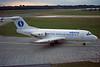 "OO-DJA Fokker F-28-3000 Fellowship ""SABENA"" c/n 11163 Hamburg/EDDH/HAM 10-09-95 (35mm slide)"
