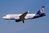 """OO-SSM Airbus A319-112 """"SN Brussels Airlines"""" c/n 1388 Brussels/EBBR/BRU 23-04-04 (35mm slide)"""