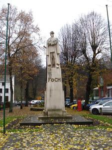 Foch Monument, Spa - Belgium.