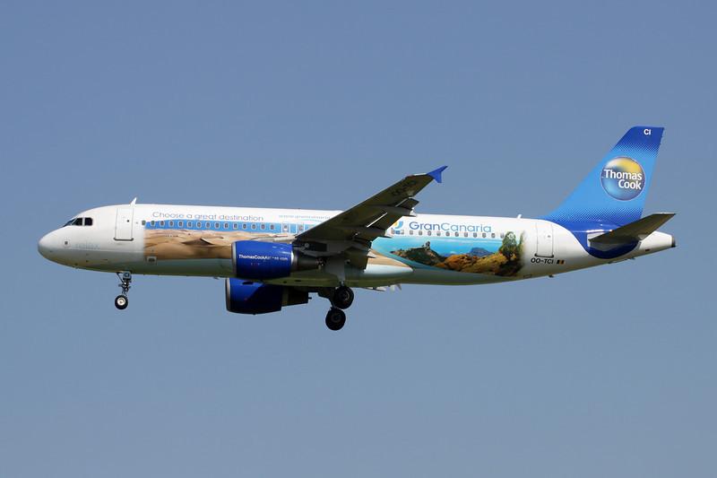 "OO-TCI Airbus A320-214 c/n 1975 Brussels/EBBR/BRU 07-07-13 ""Gran Canaria"""