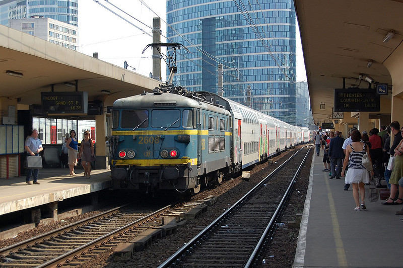 2608 at Bruxelles Nord.