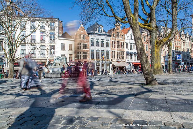Place Espagne, Brussels, Belgium.