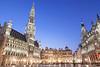 Hôtel de Ville, Grand Place, Brussels, Belgium.