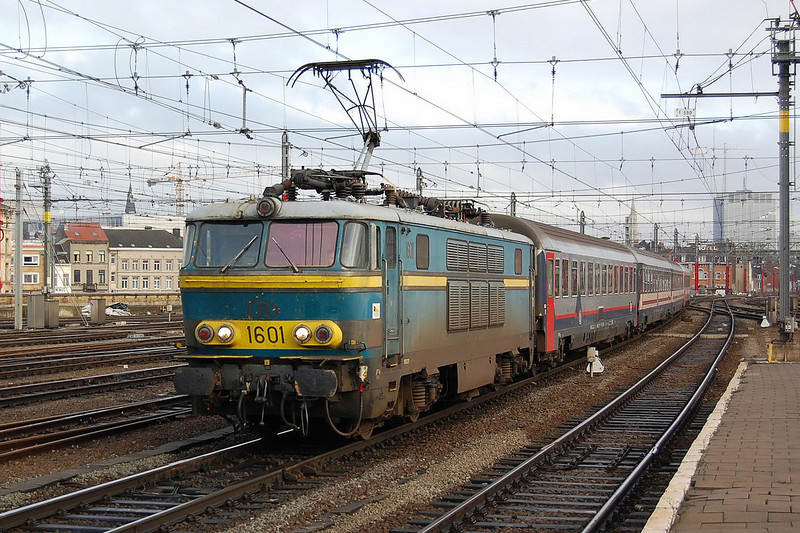1601 arriving into Bruxelles Midi on the 31st December 2007.