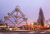 The Atomium, Brussels, Belgium.