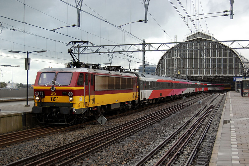 1191 at Amsterdam Centraal.