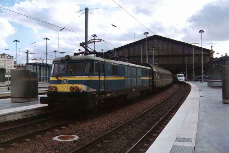 1501 at Paris Gare du Nord.
