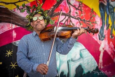 Berlin Wall Musician