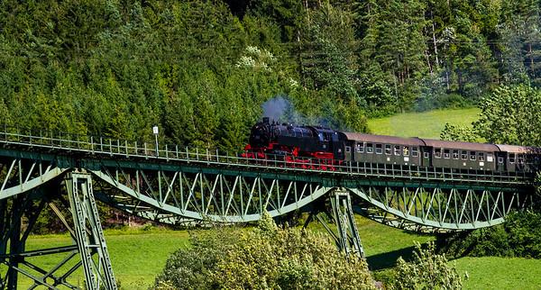 Black Forest Steam Train, Blumberg, Germany