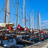 Turkish flags on all the sailboats