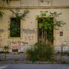 War damaged building in Mostar
