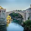 Mostar Bridge circa 1566 rebuilt 2004