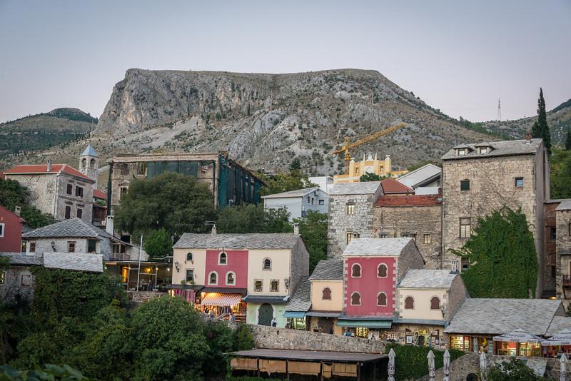 Buidlings near Mostar Bridge