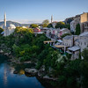 View from Mostar Bridge