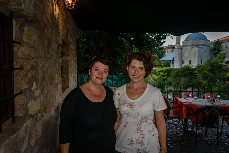 Barbara and local guide