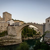 Mostar Bridge from Restaurants