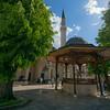 gazebo & mosque Sarajevo lens malfunction