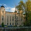 Ashkenazi synagogue fading light Sarajevo