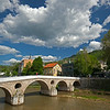 Latin Bridge sunny day