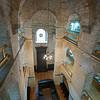 third floor view of Sephardic synagogue & museum Sarajevo