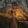 into the Bijambare Caves