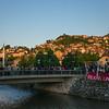 Balkans Unite demonstration Sarajevo