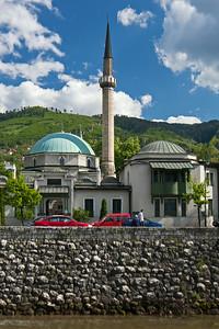 careva djamija mosque minaret