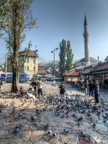sebilj fountain sarajevo