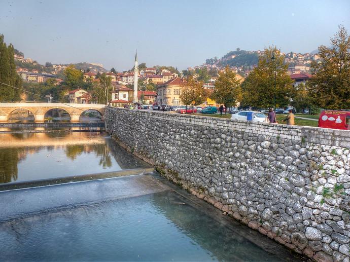 latin bridge sarajevo bosnia and herzegovina