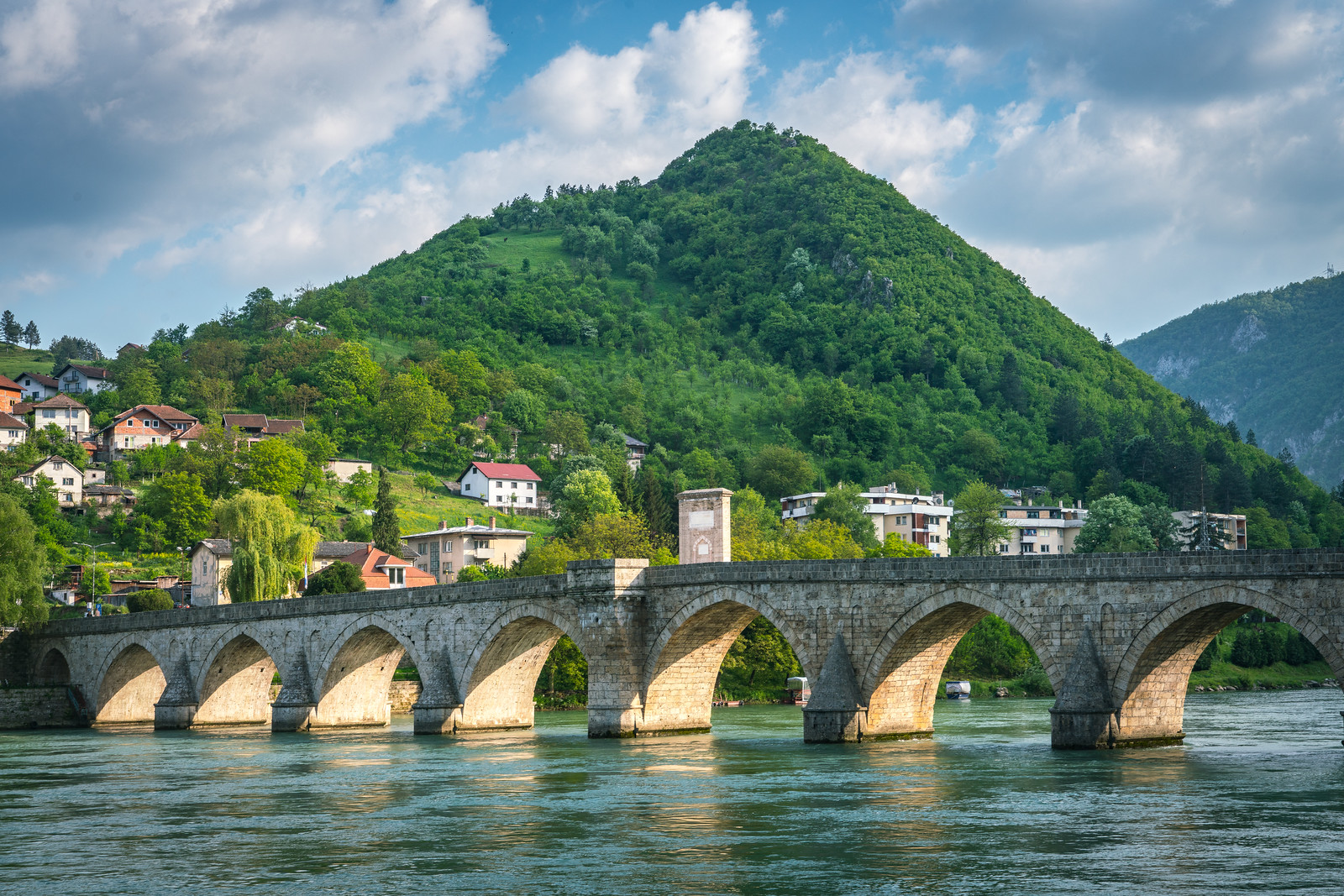 UNESCO World Heritage Site: Mehmed Paša Sokolovic Bridge in Višegrad