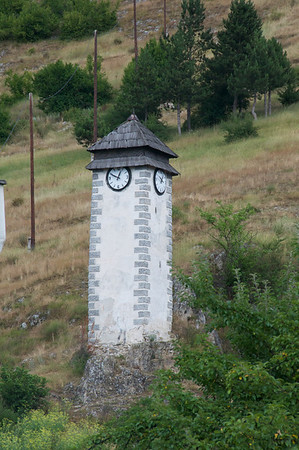 The Clock Tower (Sahat Kula, circa 1700) in Donji Vakuf is one of best preserved ones from the Ottoman times.