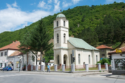 Serbian Orthodox Church is vacant most of the time.