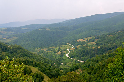 Road from Donji Vakuf to Travnik