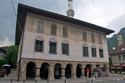 Šarena Džamija (Colorful mosque) was built in the beginning of the 16th century and restored several times in the course of history.