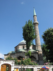 A Turkish Mosque in Sarajevo